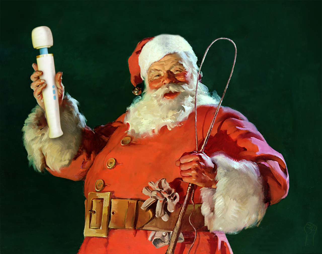 magic wand santa claus