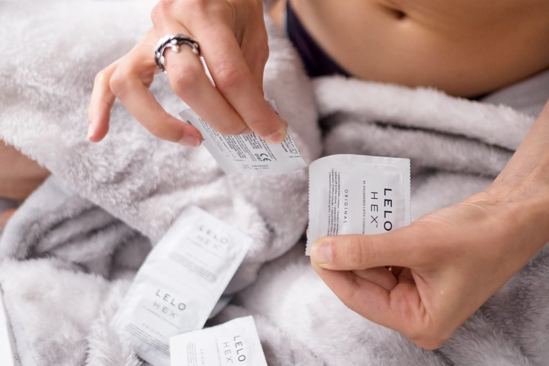 LELO HEX bustina preservativo