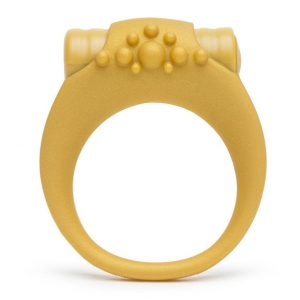 Lovehoney Royal Wedding Vibrating Love Ring gold