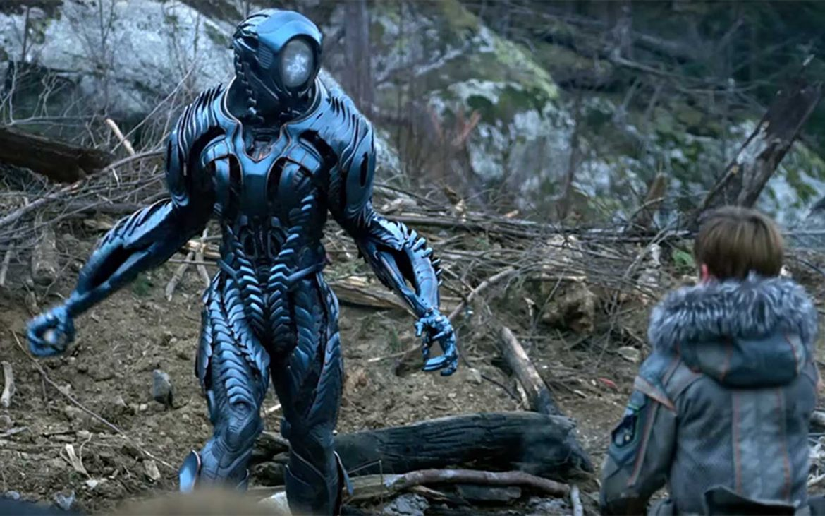 Robot di lost in space