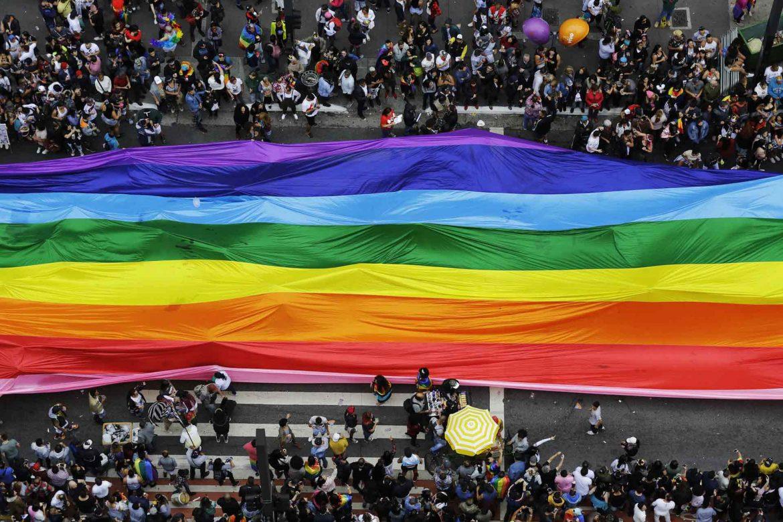 gay pride di san paolo del brasile