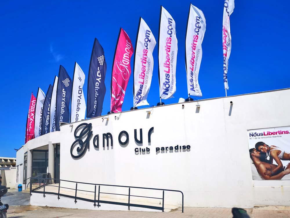 Glamour-beach-club-scambista-Cap-d'Agde