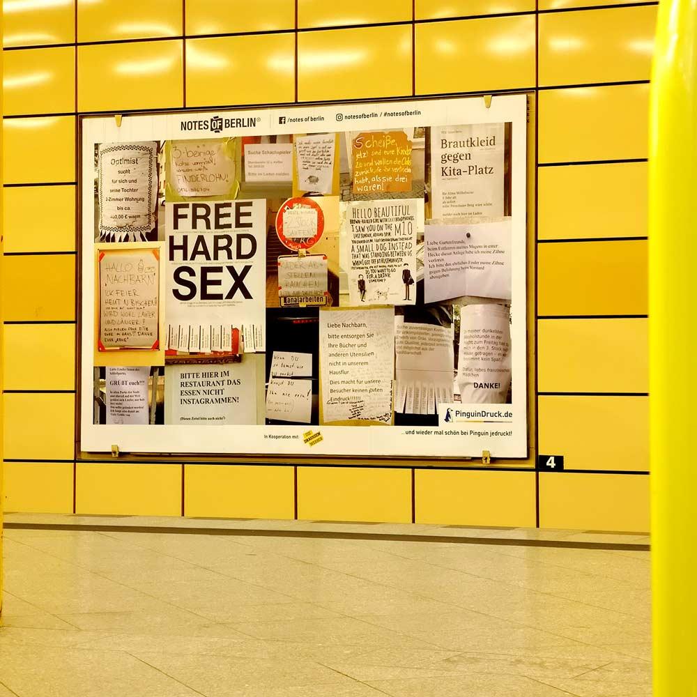 pubblicità metro Berlino